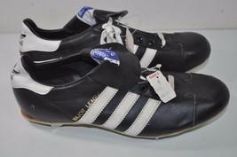 Adidas Vintage NOS Black Major League Baseball Cleats Shoes Size 7 Taiwan - $77.59