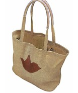ECO Friendly Market Bag With Smart Pocket Easy to Clean Jute Terra - $24.99