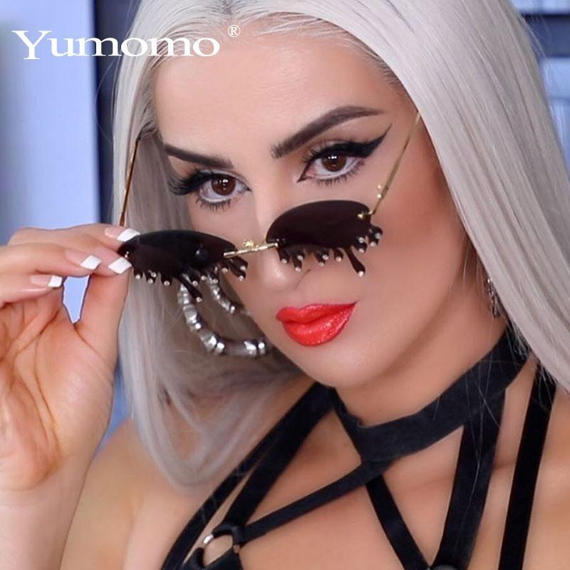 Unglasses women vintage unique tears shape steampunk sunglasses female gafas shades uv400 oculos