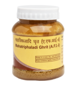 PATANJALI MAHATRIPHALADI GHRIT - 200gm - better eyesight, headache relief  - $28.99+