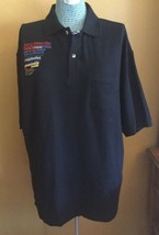 Men's Polo or Golf Shirt Barry Wehmiller Engineering Navy Blue XL SS 100... - $18.51
