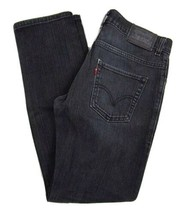 Levi's 511 Skinny Fit Black Jeans Student Size 14 Regular W27 x L27 Cotton Blend - $26.68