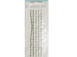 Kaisercraft Basics Green Rhinestones, 150 Pieces, 3mm