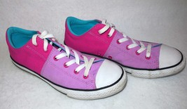 Converse All Star Low Top 2 Tone Pink Size Junior 6 Womens 8 Sneaker Shoes - $19.55