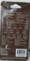 Allen Roth Market 0325981 Single Decorator Wall Plate with Mounting Hardware image 3