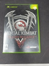 Mortal Kombat: Deadly Alliance Platinum Hits (Microsoft Xbox, 2003) Complete CIB - $7.91