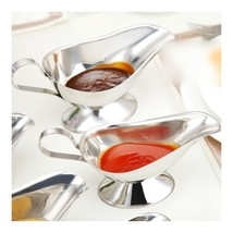 Stainless Steel Seasoning Gravy Boat Steak Pepper Sauce 10 ounce - $17.09