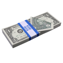 $1 Full Print Bills Prop Money Stack - $13.99