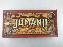 Jumanji Vintage Collectible Board Game 1995 100% COMPLETE Milton Bradley - £20.54 GBP