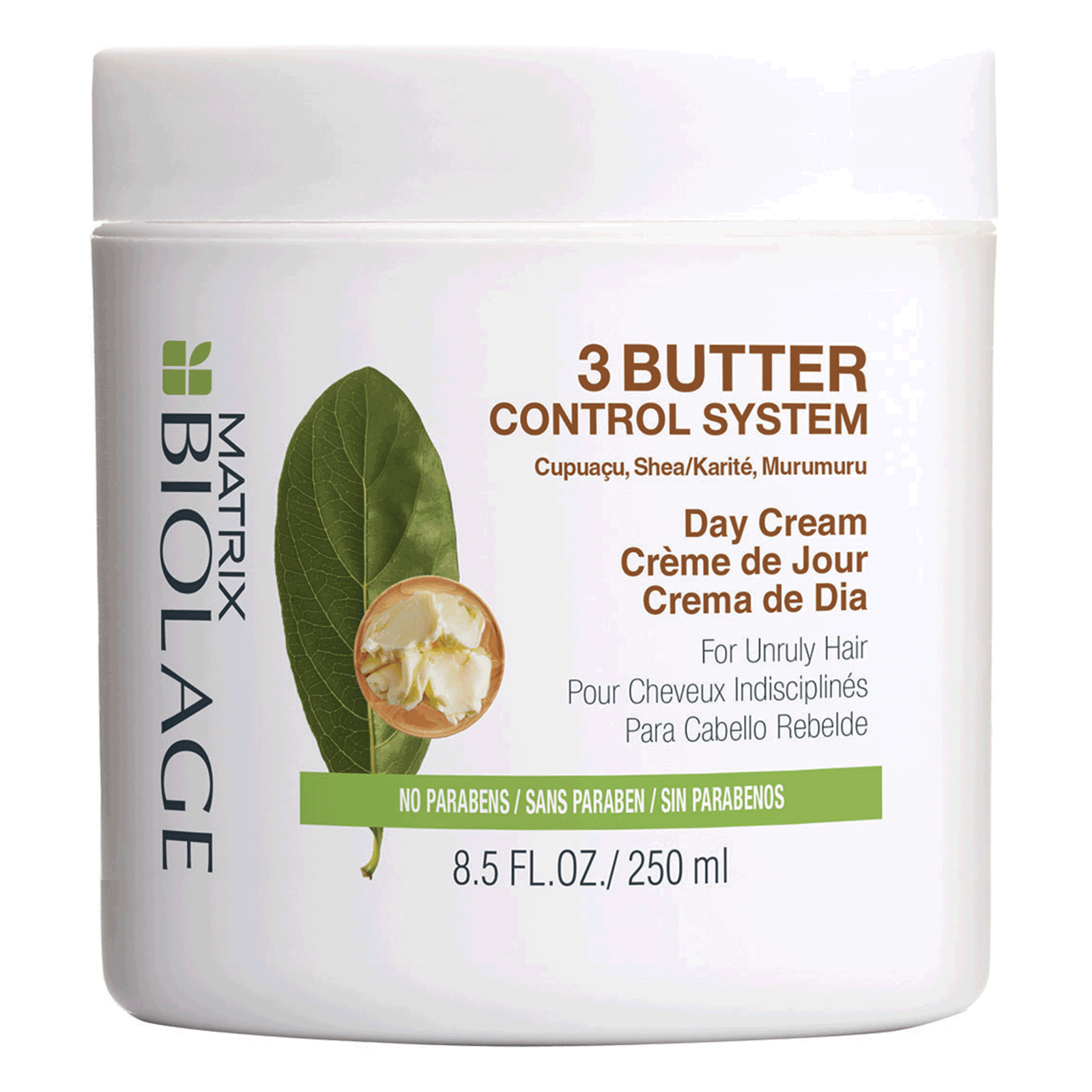 NEW Matrix Biolage 3 Butter Control System Day Cream 8.5 Oz ~ For Unruly Hair - $18.75