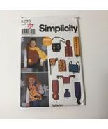 Simplicity 5285 Size XS-L Girls' Boys' Vest Hats Accessories - $11.64