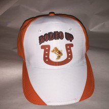 Beautiful RODEO UP Horseshoe Embroidered Cowgirl Cowboy Boot Cap Hat - $11.39