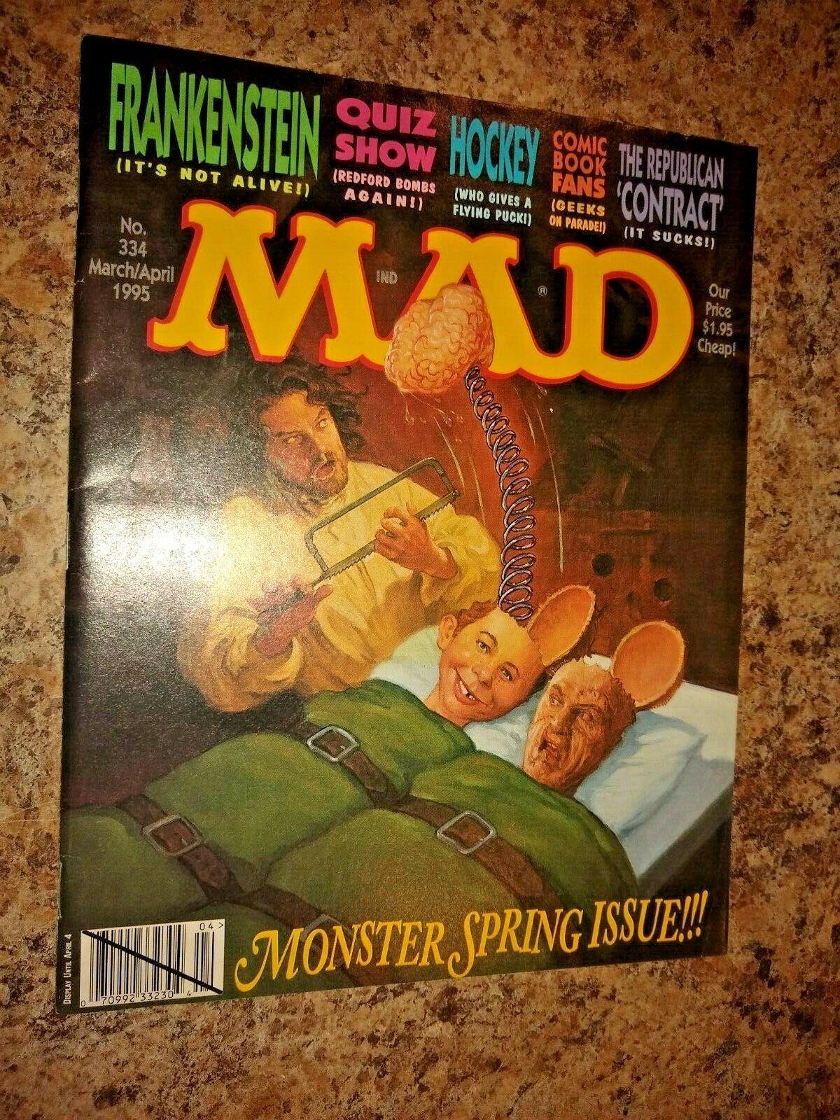 Mad Magazine #334 MARCH/APRIL 1995 - $2.49
