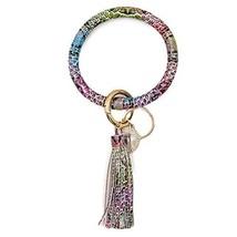 Mwfus Wristlet Keychain Leather/Silicone Bracelet Key (Multi-colored Sna... - $16.67