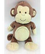 "Koala Baby Brown Tan Stitched Monkey Plush Stuffed Lovey 12""  Babies R Us - $38.69"