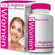 L-arginine for Women, with Essential Amino Acids to Boost Nitric Oxide Levels - $60.65