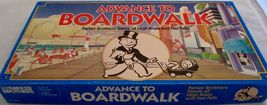 Parker Brothers Advance To Boardwalk 1985 Vintage Board Game Complete Monopoly  image 6