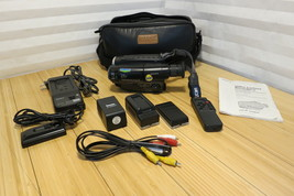 Sony Handycam Video 8 Camcorder CCD-TR78 with Camera Travel Bag and Acce... - $149.24