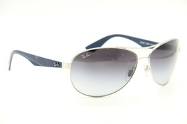 RAY-BAN Rb 3526 019/8G Silver Blue Gradient Authentic Frames Sunglasses 63-14 - $65.82