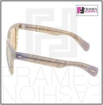 OLIVER PEOPLES Brinley OV5281SU Opal Pearl Gold Mirrored Sunglasses 5281 image 2