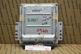 2004 Infiniti G35 Engine Control Unit ECU MEC35211A1 Module 866-7A6 - $51.06