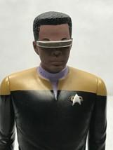 Star Trek The Next Generation Geordi La Forge Large Action Figure 1994 KG QQ - $19.80