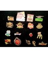 McDonalds Crew Pinbacks Lot of 17 - $50.00
