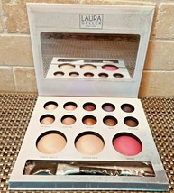 Imperfect* Laura Geller Passport To Pretty Baked Face Eyes Cheeks Travel Palette - $40.42