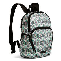 Vera Bradley Quilted Signature Cotton Hadley Backpack, Paisley Stripes image 3