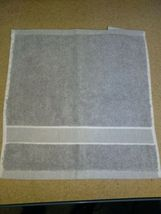 "UGG®  washcloth  Towel in Gray 12"" X 12"" new with out tags.  image 4"