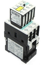 SIEMENS 3RT1025-1B CONTACTOR WITH 3RH1921-1FA40 CONTACT BLOCK