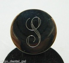 "VTG Gold Tone Initial ""S"" Brooch Pin - $9.90"