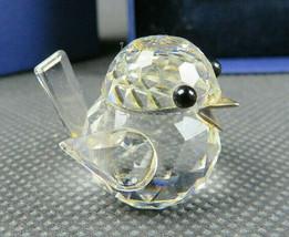 Vintage Swarovski Crystal Small Bird Figurine With Box - $65.00