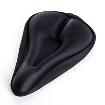 Bike Bicycle Extra Comfort Soft Gel Seat Saddle Cushion Cover - BLACK UK... - $12.90