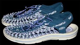 Keen UNEEK Slice Fade Poseidon/Periwinkle Bungee Lace Sandals NWOT Wms 9.5 - $69.99