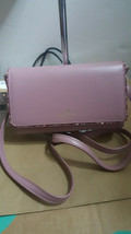 NWT Kate Spade Seton Drive Connie Crossbody Purse Pink Dusty Peony Glitter - $118.04 CAD
