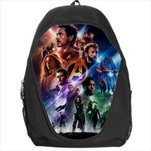 backpack avengers iron man captain america rocket racoon marvel hawkeye widow - $39.79