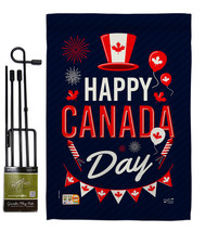 Canada Day - Impressions Decorative Metal Garden Pole Flag Set GS137260-BO - $29.97