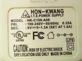 Hon Kwang HK-C108-A08 Power Supply Adaptor 8V 1.3A - $21.24