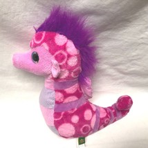 "Wild Republic Plush Pink Purple Seahorse 12.5"" tall Stuffed Animal Toy - $6.79"