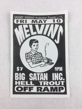 Melvins - Big Satan Inc - Hell Trout - Off Ramp SEATTLE Washington Conce... - $93.50