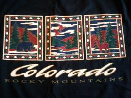 Colorado, Rocky Mountains, Vintage, Large Mens T-Shirt - $9.95