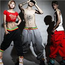 men Casual Harem Baggy Dance Sport Sweat Sweatpants Hip-hop Pants Trousers Slack