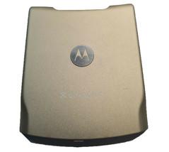 Original Battery Door Back Rear For Motorola Razr V3xx Metalic Gold CING... - $4.55