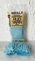 Bucilla Pre-Cut Rug Yarn Acrylic - 1 Sealed Package + Color Wedgewood Blue - $3.75