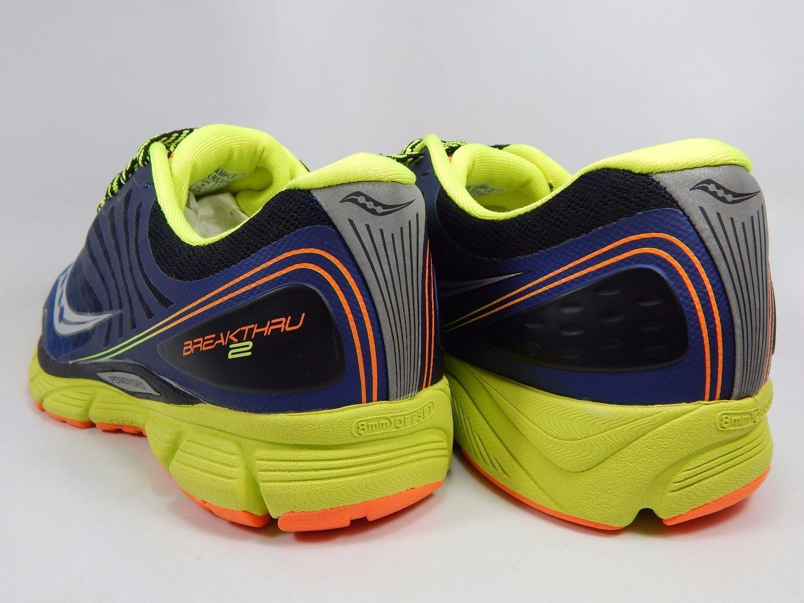Saucony Breakthru 2 Men's Running Shoes Size US 9 M (D) EU 42.5 Blue S20304-2