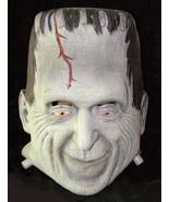 Munsters Herman Munster Frankenstein Rubber Halloween Mask - $59.99