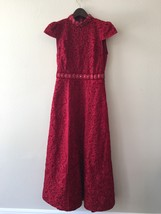 Alice & Olivia Red Beaded Gown - $799.00