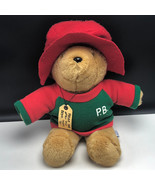 PADDINGTON PLUSH STUFFED ANIMAL darkest peru london england tag teddy be... - $56.12