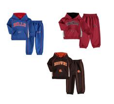 NFL Toddler Boy's Lil' Fan 2-Piece Fleece Set with Hoodie Sweatshirt & Pants